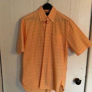 Vintage Tommy Hilfiger button down plaid shirt